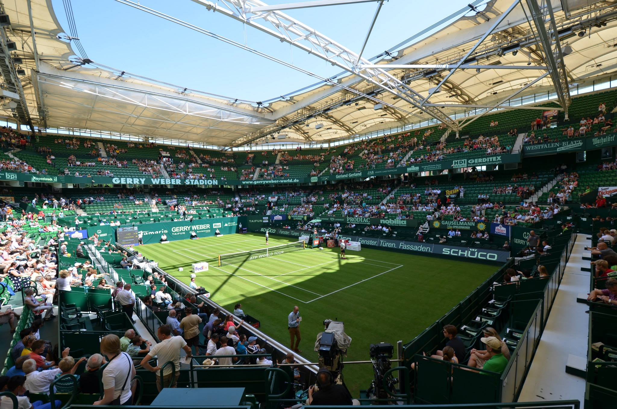 tennis halle live streaming